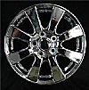 2009 Toyota Camry  16x6.5 Silver Factory Replacement Wheels