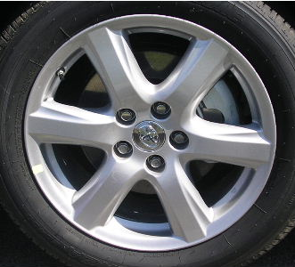 Toyota Camry 2007-2009 17x7 Silver Factory Replacement Wheels