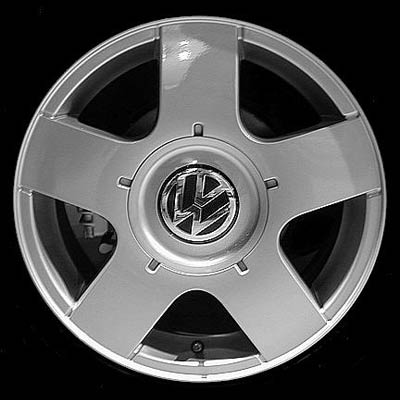 Volkswagen Golf 1999-2006 15x6 Silver Factory Replacement Wheels
