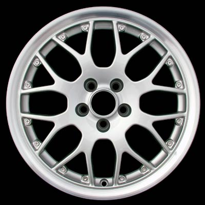 Volkswagen Golf 1999-2002 16x6.5 Silver Factory Replacement Wheels