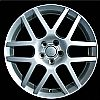 2001 Volkswagen Golf  16x6.5 Silver Factory Replacement Wheels