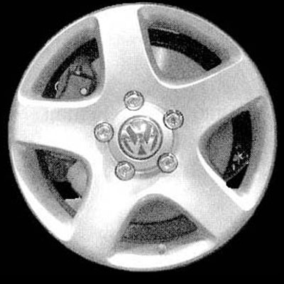 Volkswagen Touareg 2004-2008 17x7.5 Silver Factory Replacement Wheel