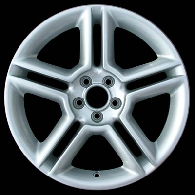 Volkswagen Beetle 2005-2008 17x7 Silver Factory Replacement Wheels