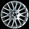 2004 Volkswagen Jetta  17x7 Silver Factory Replacement Wheels
