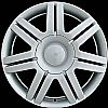 2005 Volkswagen Passat  17x7 Silver Factory Replacement Wheel