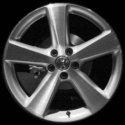 Volkswagen Beetle 2006-2008 17x7 Silver Factory Replacement Wheels