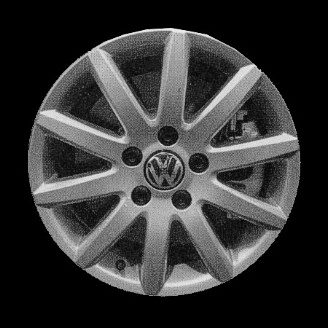Volkswagen Jetta 2005-2008 16x6.5 Silver Factory Replacement Wheels