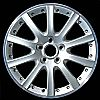 2007 Volkswagen Jetta  17x7 Silver Factory Replacement Wheels