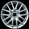 2008 Volkswagen Golf  17x7 Silver Factory Replacement Wheels