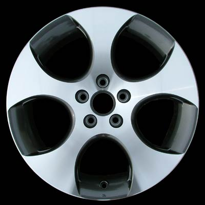 Volkswagen Golf 2005-2008 18x7.5 Silver Factory Replacement Wheels