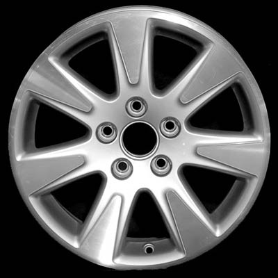 Volkswagen Passat 2006-2008 16x6.5 Silver Factory Replacement Wheels