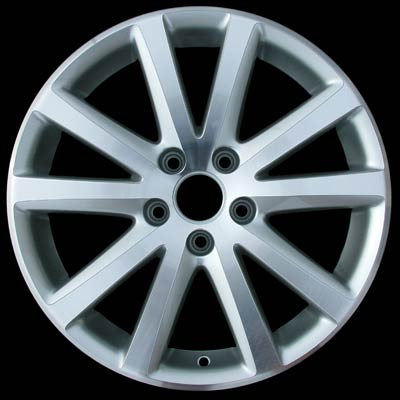 Volkswagen Passat 2006-2008 17x7.5 Silver Factory Replacement Wheels