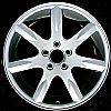 2000 Volvo 850  17x7 Char Grey Factory Replacement Wheels