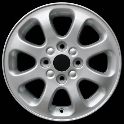 Volvo S40 2000-2004 15x6 Silver Factory Replacement Wheel