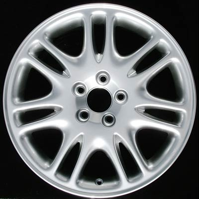 Volvo S60 2002-2004 17x7.5 Silver Factory Replacement Wheels