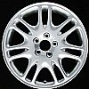 Volvo S60 2002-2007 17x7.5 Hyper Silver Factory Replacement Wheel