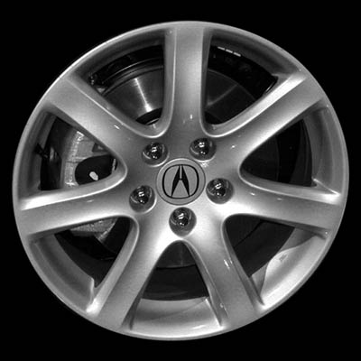 acura tsx 2004 2006 17x7 silver factory replacement wheels. Black Bedroom Furniture Sets. Home Design Ideas