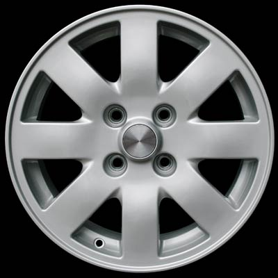 Infiniti G20 2002-2002 16x7 Silver Factory Replacement Wheels