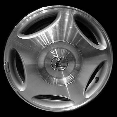 Lexus Ls400 1998-2000 16x7 Silver Factory Replacement Wheels