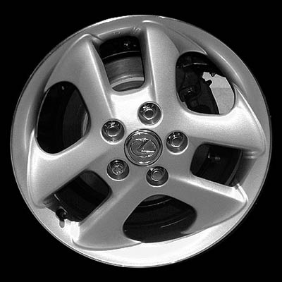 Lexus Es300 2000-2001 16x6 Chrome Factory Replacement Wheels