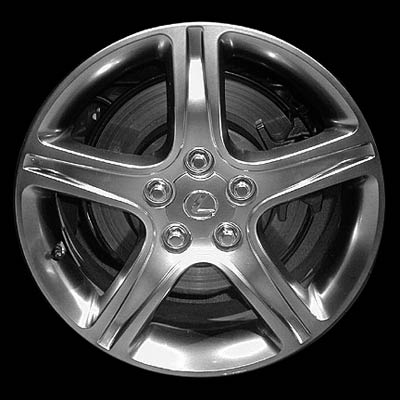 Lexus IS300 2001-2004 17x7 Silver Factory Replacement Wheels