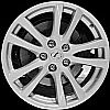 2007 Lexus IS250  18x8 Silver Factory Replacement Wheels