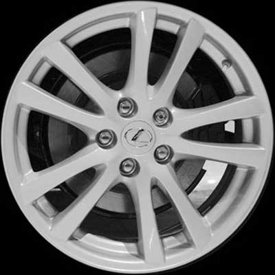 Lexus IS250 2006-2007 18x8 Silver Factory Replacement Wheels