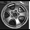 Ford Taurus 2004-2005 16x6 Silver Factory Replacement Wheels