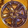 Dodge Avenger 2008-2009 18x7.5 CLadded Factory Replacement Wheels