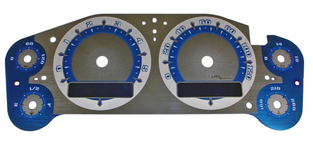 Chevrolet Silverado 2007-2009 Hd Mph All Models Diesel Aquamariner  Ltd. Edition Gauges