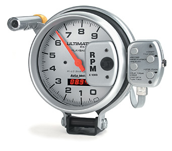 Auto Meter 5 in. Ultimate Data Playback Tachometer