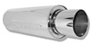 Arospeed Bomb Muffler 16 in. Casing w/ 4 in. Round Tip