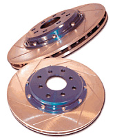 Arospeed Brake Rotors 95-00 Hyundai Accent Front