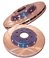 Arospeed Brake Rotor Rear 93-97 Nissan Altima (pair)