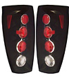 2004 Chevrolet Avalanche  Euro Black Tail Lights