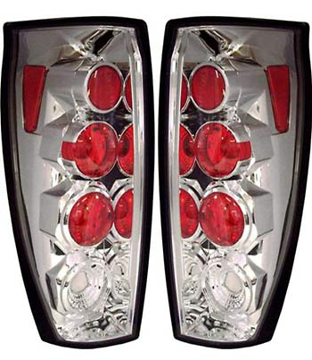 Chevrolet Avalanche 2002-2005 Chrome Euro Tail Lights