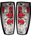 2002 Chevrolet Avalanche  Chrome Euro Tail Lights
