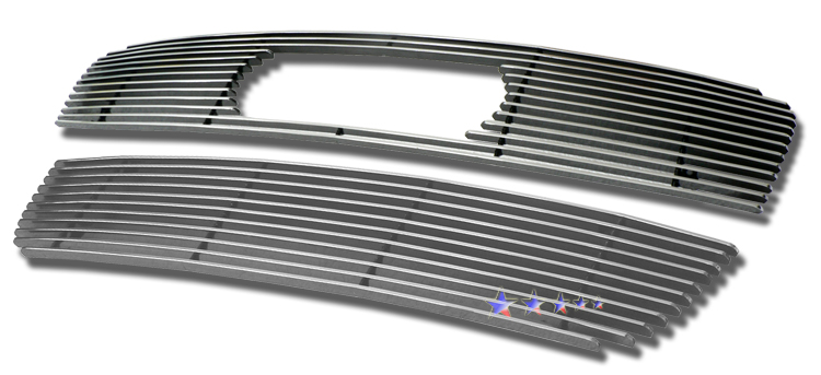 Audi Q7  2007-2012 Polished Main Upper Aluminum Billet Grille