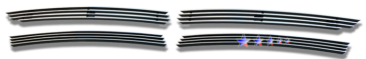 Audi Q7  2007-2012 Polished Lower Bumper Aluminum Billet Grille