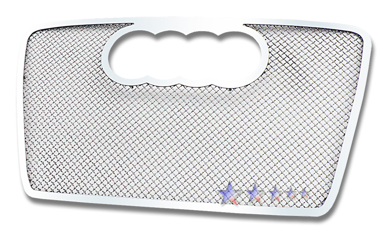 Audi A4  2006-2007 Chrome Main Upper Mesh Grille