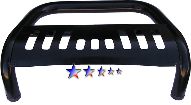 2002-2006 Chevrolet Avalanche   Black Coated Aps Bull Bar