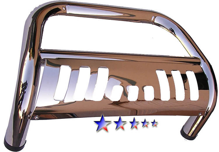 2007-2011 Jeep Wrangler   Polished Aps Bull Bar
