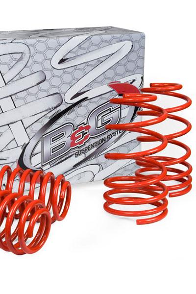 Mercedes Benz CLK 6 Cylinder 2003-2009 B&G S2 Sport Lowering Springs