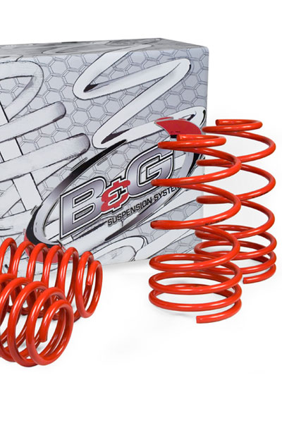 Mercedes Benz E Class (E320, E430 & E55 without Automatic Leveling) 1996-2002 B&G S2 Sport Lowering Springs