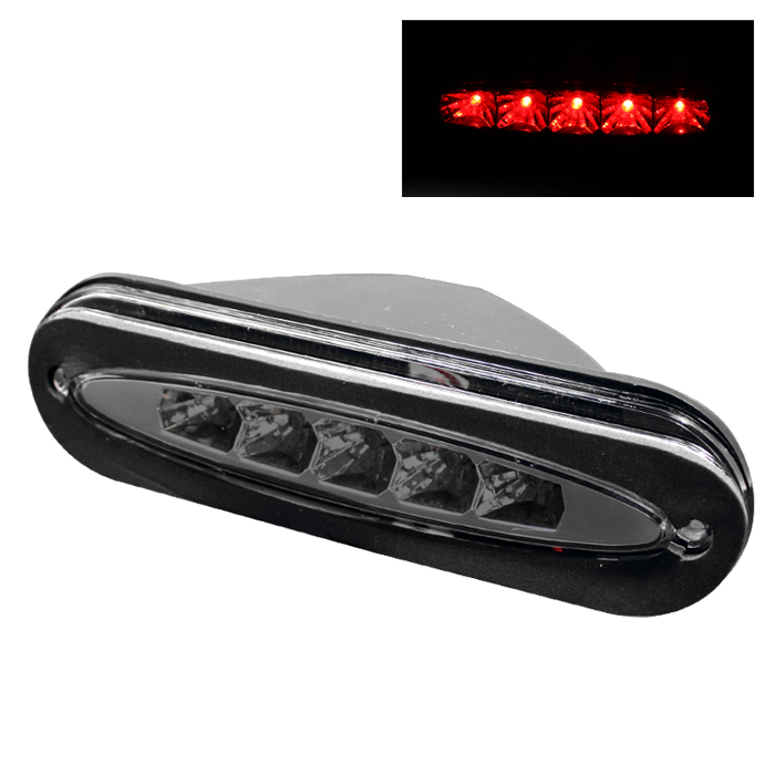 Dodge Neon 1995-1999 Smoke Housing Led 3rd Brake Light