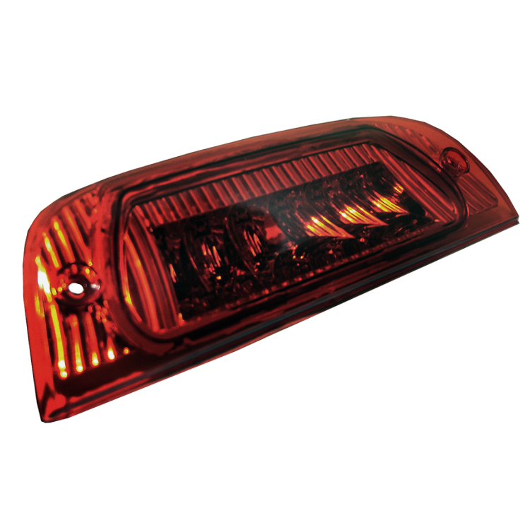 Jeep Liberty 2002-2004 Red Housing Led 3rd Brake Light