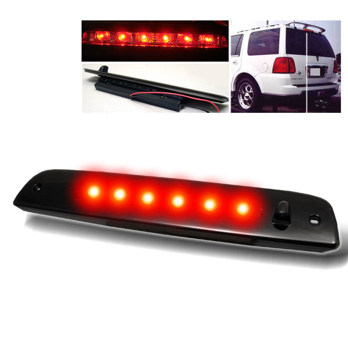 Lincoln Navigator 2003-2006 Smoke Housing Led 3rd Brake Light