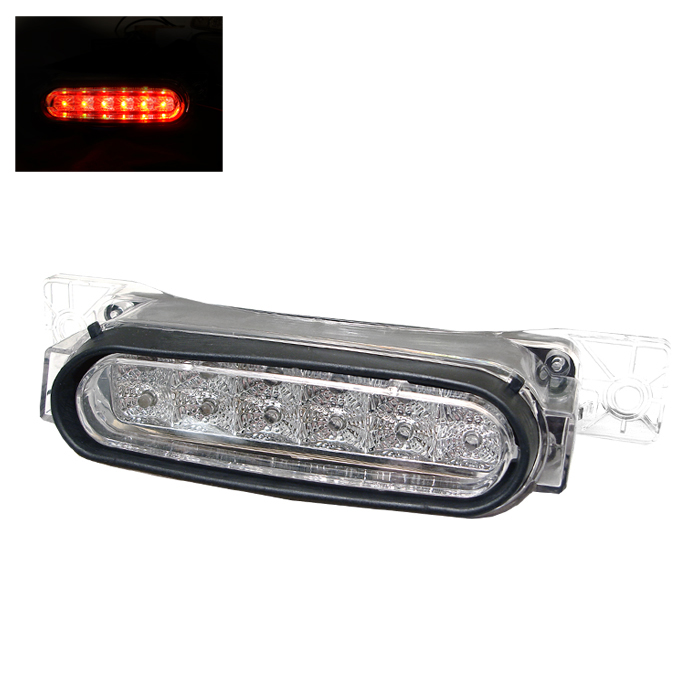 Mazda Rx8 2004-2008 Clear Housing Led 3rd Brake Light