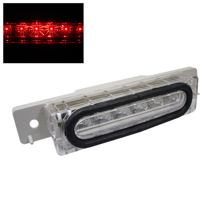 Mazda Miata 1990-1997 Chrome Housing Led 3rd Brake Light