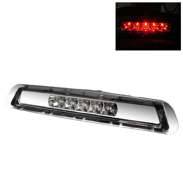 Toyota 4 Runner 2003-2005 Clear Housing Led 3rd Brake Light